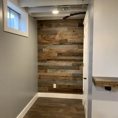 Vintage Timbers Solid Wood Wall PanelingSolid Wood in Gray, Size 0.38 D in | Wayfair