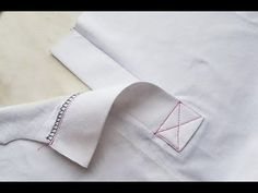 How To Sew a Polo Shirt Sewing Course💎 Kurs szycia plisa polo Pattern Drafting Tutorials, Sewing Tutorials, Sewing Projects, Sewing Basics, Sewing Hacks, Bordado Tipo Chicken Scratch, Shirt Collar Pattern, Origami Shirt, Couture Sewing Techniques
