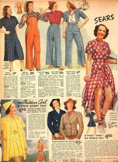 1930s Fashion, Victorian Fashion, Retro Fashion, Vintage Fashion, Fashion Goth, Moda Vintage, Vintage Mode, Camping Outfits, Vintage Outfits