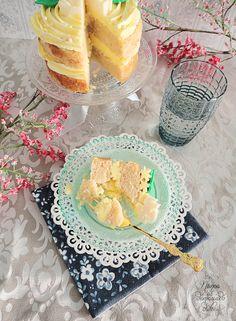 Lemoncello Layer Cake (Invitada del mes en Cookcakes de Ainhoa)