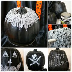 michelle paige: Chalkboard Pumpkins