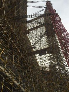 Some serious scaffolding.