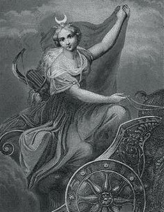 Visit the Ancient world of Luna, the Roman goddess of the moon. Discover fascinating information about the Roman goddess Luna. Short facts and information about Luna, the Roman goddess of the moon. Aurora Goddess, Moon Goddess, Luna Goddess, Greek And Roman Mythology, Greek Gods And Goddesses, Crescent Moon Symbol, Greek Titans, Symbols Of Islam, Mythological Characters
