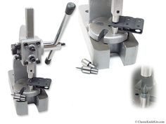 CKK Rivet/Eyelet Flaring Press - Master Series - (For Sheath/Holster Making)