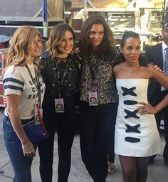Connie Britton, Sophia Bush, Katie Holmes & Kerry Washington