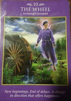 #10 The Wheel - Archangel Jeremiel