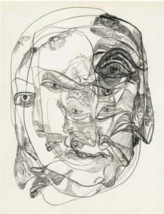Unica Zürn Untitled 1965 Ink & gouache on paper 25 x 19 inches x 50 cm) Signed & dated . Outsider Art, Halle Saint Pierre, Frieze Masters, Automatic Drawing, Francis Picabia, Art Brut, Art Design, Oeuvre D'art, Art Inspo