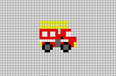 Cut the Rope Candy Pixel Art Melty Bead Patterns, Perler Patterns, Loom Patterns, Beading Patterns, Tiny Cross Stitch, Beaded Cross Stitch, Cross Stitch Embroidery, Cross Stitch Patterns, Firefighter Cross