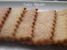 Dulce Algodón Mexican Food Recipes, Sweet Recipes, Cookie Recipes, Macaroon Recipes, Tea Cookies, Pan Dulce, Biscuits, Icing Recipe, Cookie Decorating