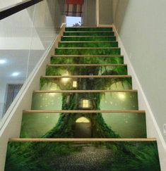 3D Dream forest house Forest View 899 Staircase Stairway