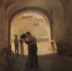 The Italian plaza - Ron Hicks, The Kisses