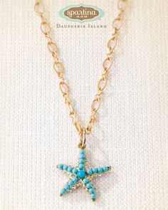 Spartina 449 Starfish Necklace Available at: www.always-forever.com