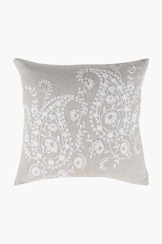 Embroidered Paisley Scatter Cushion, 50x50cm - Shop New In - Home Déc Scatter Cushions, Throw Pillows, Baroque Design, Baroque Fashion, Home Decor Shops, Colorful Pillows, Pastel Colors, Damask, Pillow Cases