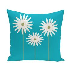 E by Design Daisy May Decorative Pillow