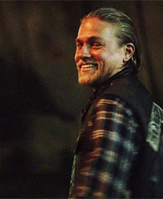 Jax Teller SOA gif // Charlie Hunnam ... Damn, I'm going to miss that sexy walk