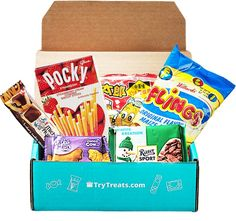 Types Of Snacks, Snack Box, Joy And Happiness, Subscription Boxes, Grocery Store, Pop Tarts, Fun Facts, Special Occasion, Snack Recipes