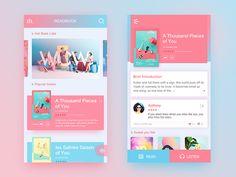 A colorful reading interface,I hope you like it.