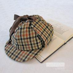 8f7559b6a70 Sherlock Holmes hat Vintage 70s