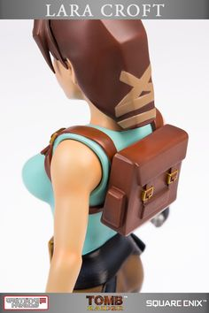 Tomb Raider: Lara Croft regular edition statue, the first statue from the 20th anniversary range of Tomb Raider statues (a Gaming Heads product)