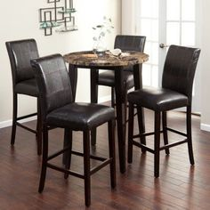 Camden Dark 42 Round Bar Height Table by American Drew Bar