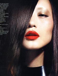 Model: Xuchao Zhang   Makeup/Photographer/Hair: Unknown