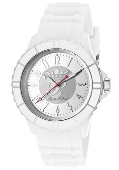 Paris Hilton Women's Flirt Silver Dial White Silicone discovered on Fantasy Shopper Paris Hilton, Flirting, Style Inspiration, Watches, Silver, Accessories, Suit, Fantasy, Design