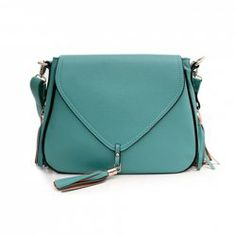 WANT! $10.80 Sweet Women's Crossbody Bag With Solid Color and Tassels Design