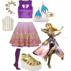 """""""Zelda Princess Warrior Outfit"""" by muchneededmerch on Polyvore"""