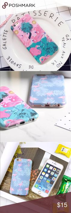 Rubber Flamingo Pattern Soft Silicone TPUCaseCover Your device will be attractive and usable while protected from scratches in this Stylish New case. Protect your phone from scratches, dust or damages. It moulds perfectly to your phone's shape while providing easy access to vital functions.                                              Details: For IPhone 7Plus, One Cover (Pink One) Accessories Phone Cases