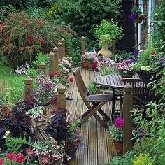 5 Successful Cool Tips: Dream Backyard Garden small backyard garden how to grow.Small Backyard Garden How To Grow beautiful backyard garden budget. Outdoor Rooms, Outdoor Gardens, Outdoor Living, Outdoor Seating, Jardin Decor, The Secret Garden, Diy Deck, Plantation, Easy Garden
