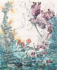 Transmission 2011 gouache, watercolour, pencil on paper x cm Australian Artists, Art Photography, Illustration, Painting, World Of Color, Art, Pictures, Watercolour Inspiration, Prints