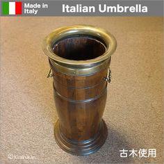 輸入雑貨:イタリア製古木のアンブレラスタンド(傘立て) Italy, How To Make, Italia