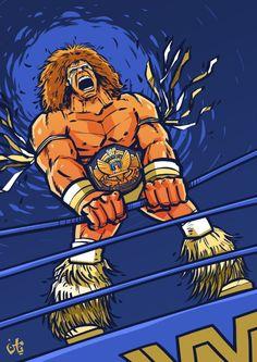 Ultimate Warrior by Yamen Elgamal, via Behance