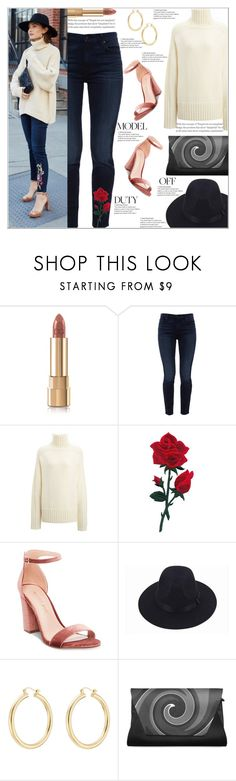 """""""It Girl Style: Embellished Denim"""" by atelier-briella ❤ liked on Polyvore featuring Dolce&Gabbana, Jen7, Joseph, Madden Girl and Isabel Marant"""