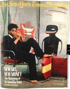 Superhero Killer | le-jaune: JEAN-MICHEL BASQUIAT ON THE COVER OF THE...