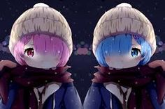 See more 'Re:Zero ‒Starting Life in Another World‒' images on Know Your Meme! Re Zero Wallpaper, Ram Wallpaper, Otaku Anime, Anime Manga, Anime Art, Ram And Rem, Re Zero Rem, Tsundere, Beautiful Anime Girl