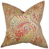 Found it at Wayfair - Katell Floral Cotton Throw Pillow