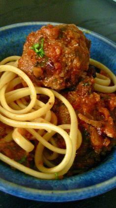 Best spicy meatball pasta recipe