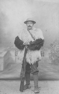 Winter War: Tommy Dressed For Winter 1916