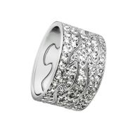 FUSION ring - 18 kt. (DK) Geo Jensen design