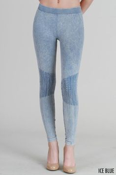 a64c722870 Vintage Knee Shirring Long Leggings