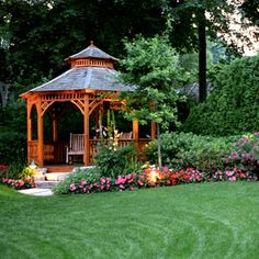 Gazebo for the front yard.
