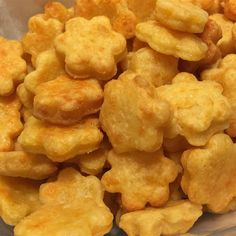 "Homemade Goldfish Treats I ""I had fun making these, and they tasted great too. I sprinkled with salt on top just before baking."""