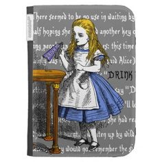 Alice in Wonderland Kindle Keyboard Case