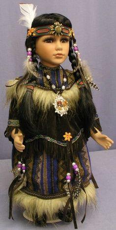 Native American Girl.