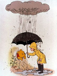Winnie the Pooh and Christopher Robin Winne The Pooh, Winnie The Pooh Quotes, Disney Winnie The Pooh, Disney Love, Disney Art, Disney Pixar, Walt Disney, Eeyore Quotes, Christopher Robin