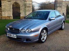 Used 2008 (08 reg) Blue Jaguar X-Type 2.2d SE 2009 4dr Auto DPF for sale on RAC Cars