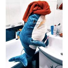 Find the best gift for your special someone when you buy Cute Giant Shark Stuffed Animal Toy at My Heart Teddy. Hurry and enjoy great deals on lovely gift items! Llama Plush, Shark Plush, Shark Meme, Shark Tank, Big Shark, Cute Shark, Shark Stuffed Animal, Shark Puppet, Shark Pillow