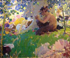 Walter Everett, Illustration, Napa Valley Museum