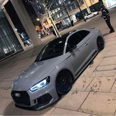 Crazy Nardo Grey Audi RS5 What do you think of this spec? Follow @MillionaireExclusive for more!
